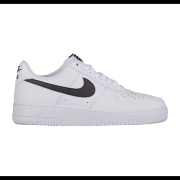 Nike Shoes White And Black Air Force 1 Size 8 Poshmark